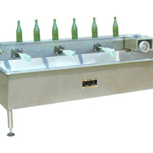 六头水槽式刷瓶机
